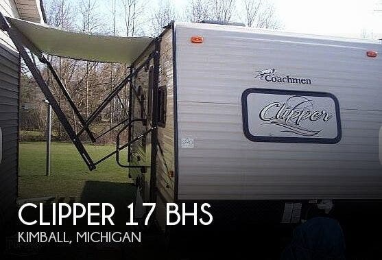 Used 2018 Coachmen Clipper 17 BHS available in Kimball, Michigan