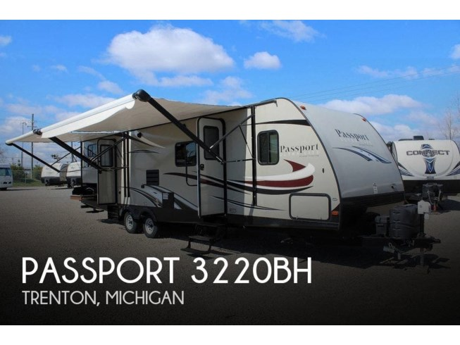 Used 2017 Keystone Passport 3220BH available in Trenton, Michigan
