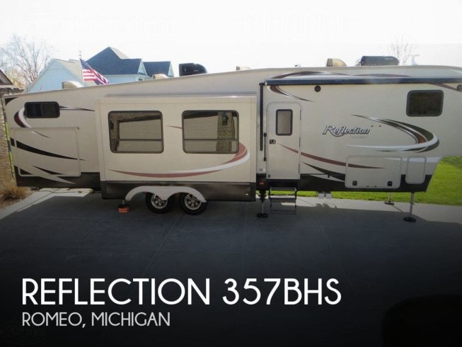 Used 2016 Grand Design Reflection 357BHS available in Romeo, Michigan