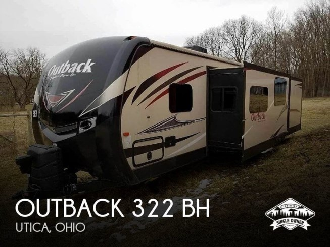 Used 2016 Keystone Outback 322 BH available in Utica, Ohio
