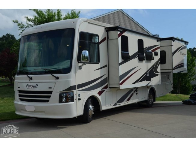 2019 Coachmen Pursuit 27DS - Used Class A For Sale by POP RVs in Canton, Ohio features Air Conditioning, Awning, Generator, Leveling Jacks, Slideout