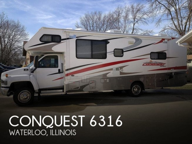 Used 2007 Gulf Stream Conquest 6316 available in Waterloo, Illinois