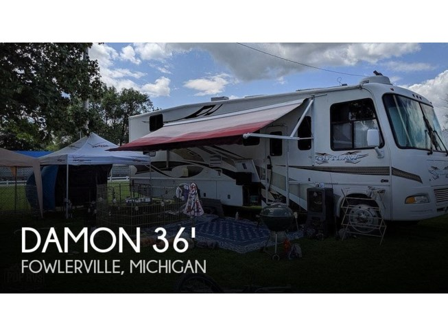 Used 2007 Thor Motor Coach Outlaw Damon 3611  Toy Hauler available in Fowlerville, Michigan