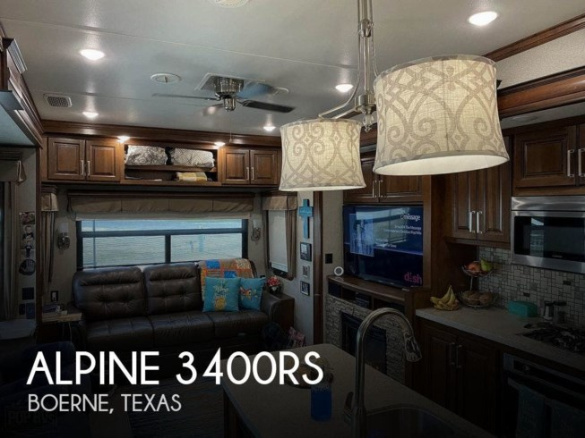 Used 2017 Keystone Alpine 3400RS available in Boerne, Texas