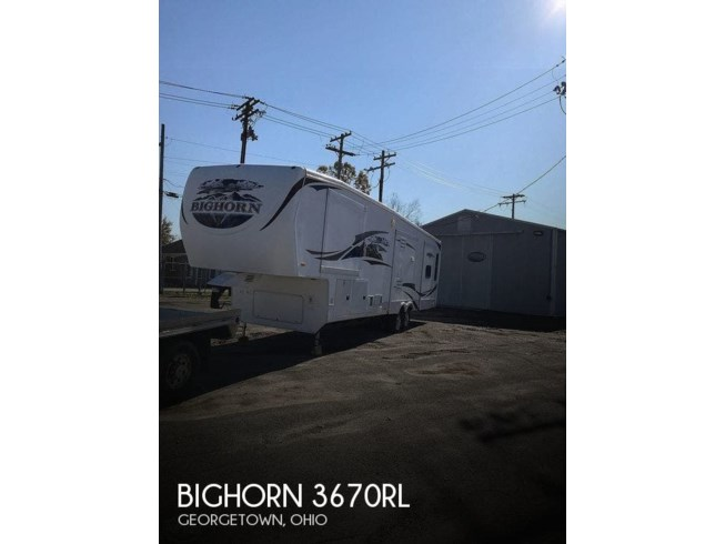 Used 2010 Heartland Bighorn 3670RL available in Georgetown, Ohio