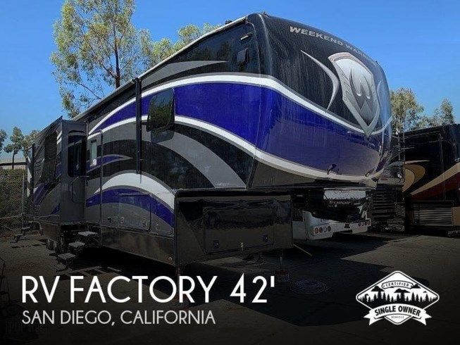 Used 2017 Miscellaneous RV Factory 4250W Weekend Warrior Toy Hauler available in San Diego, California