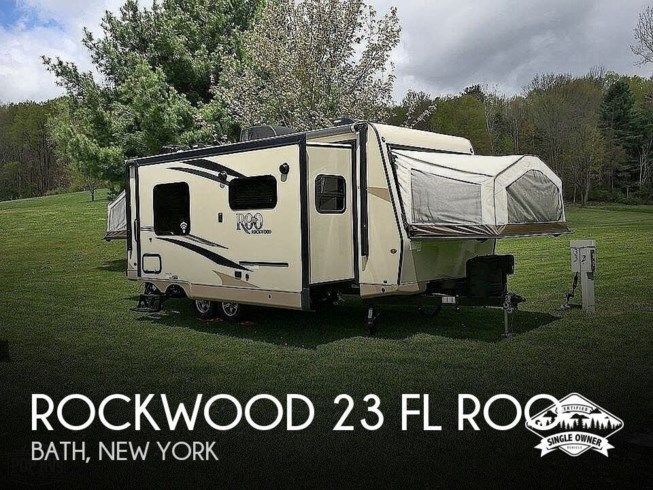 Used 2019 Forest River Rockwood 23 FL ROO available in Bath, New York