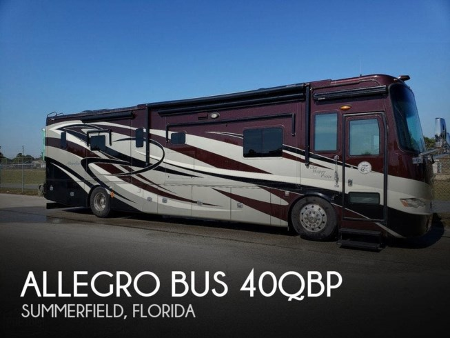 Used 2012 Tiffin Allegro Bus 40QBP available in Summerfield, Florida