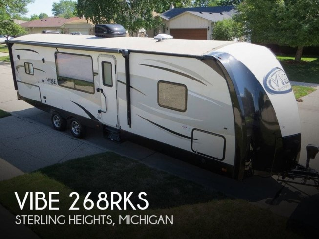 Used 2016 Forest River Vibe 268RKS available in Sterling Heights, Michigan