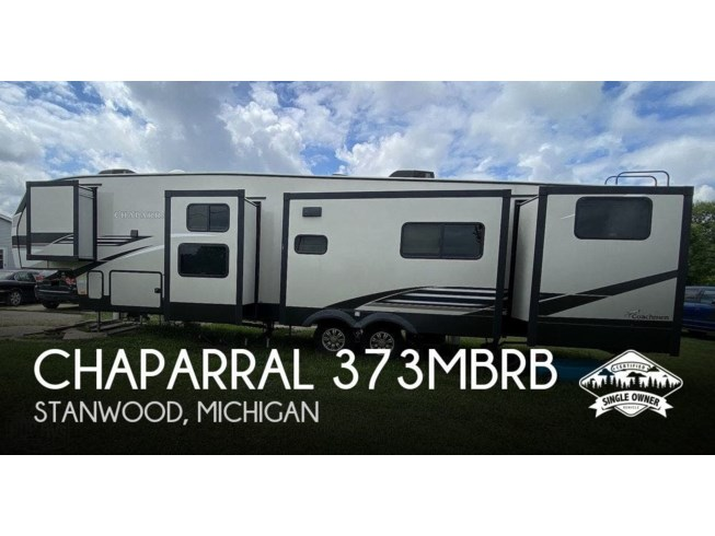 Used 2020 Coachmen Chaparral 373MBRB available in Stanwood, Michigan