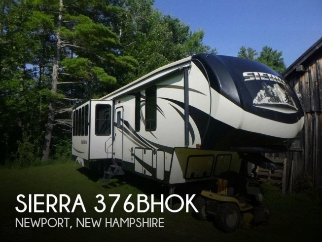 Used 2016 Forest River Sierra 376BHOK available in Newport, New Hampshire