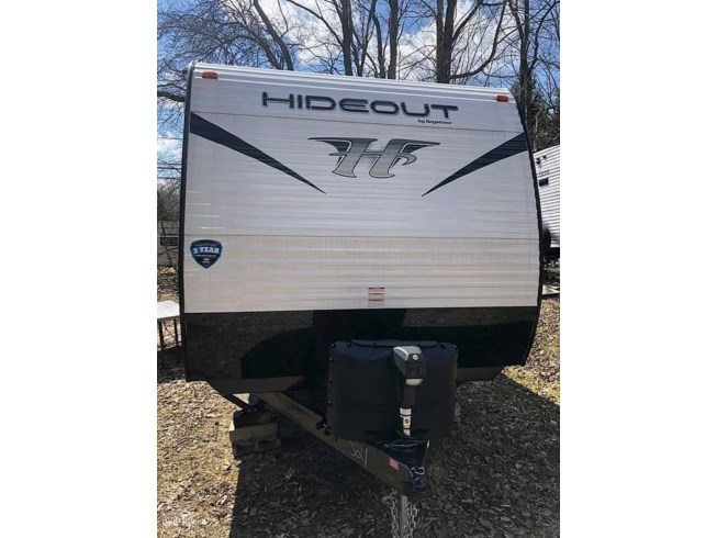 2019 Keystone Hideout 258 LHS - Used Travel Trailer For Sale by POP RVs in Caneadea, New York features Air Conditioning, Awning, Slideout