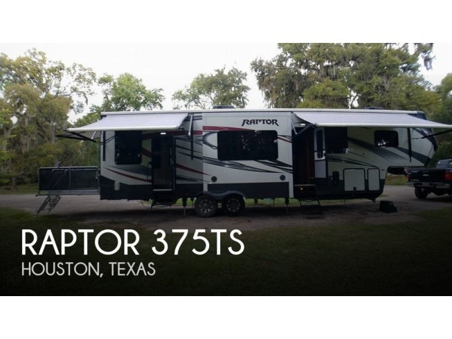 Used 2015 Keystone Raptor 375TS available in Houston, Texas