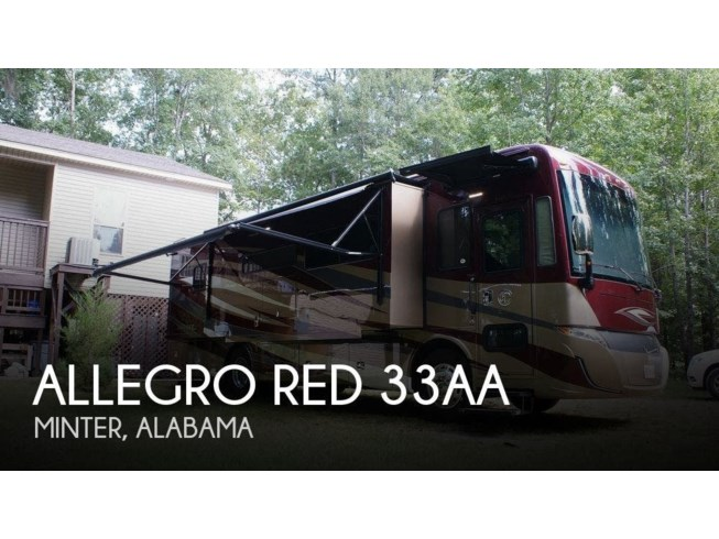 Used 2019 Tiffin Allegro Red 33AA available in Minter, Alabama