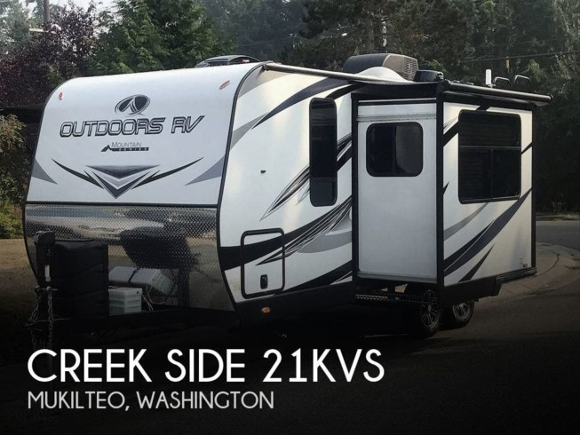 Used 2020 Outdoors RV Creek Side 21KVS available in Mukilteo, Washington