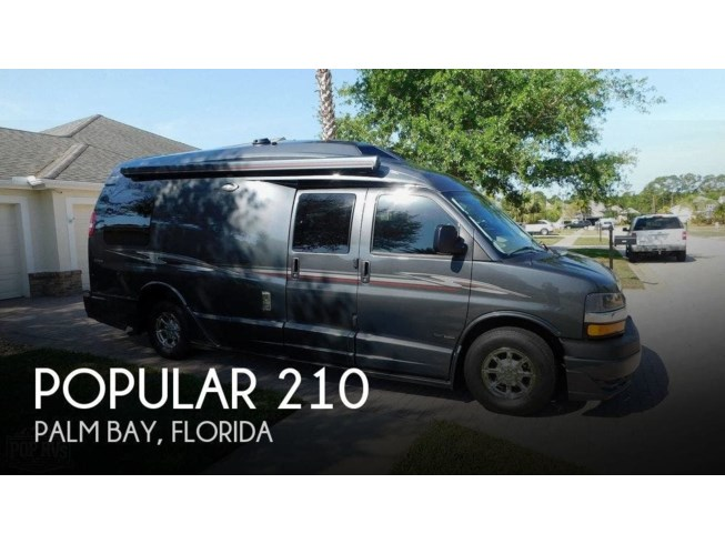 Used 2016 Roadtrek Popular 210 available in Palm Bay, Florida