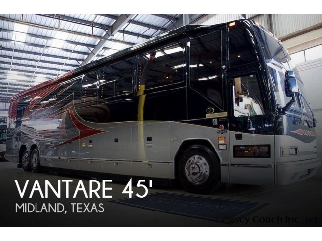 Used 2003 Prevost Featherlite Vantare 45 available in Midland, Texas