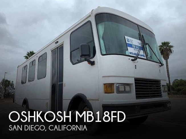 Used 1993 Miscellaneous Oshkosh MB18FD available in San Diego, California