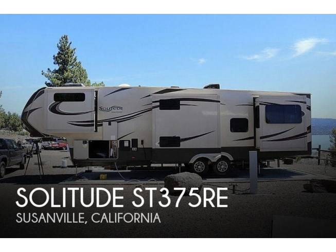 Used 2016 Grand Design Solitude ST375RE available in Susanville, California