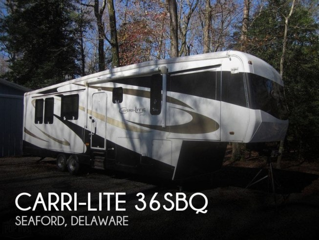 Used 2008 Carriage Carri-Lite 36SBQ available in Seaford, Delaware