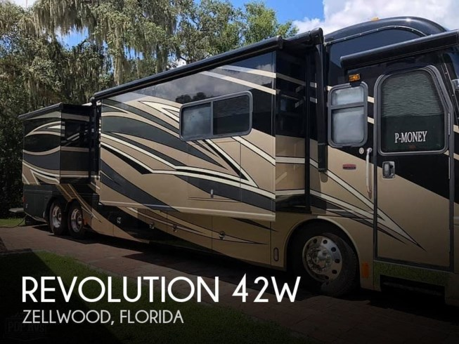 Used 2011 Fleetwood Revolution 42W available in Zellwood, Florida