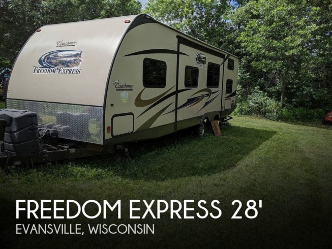 Used 2015 Coachmen Freedom Express 282 BHDS available in Evansville, Wisconsin