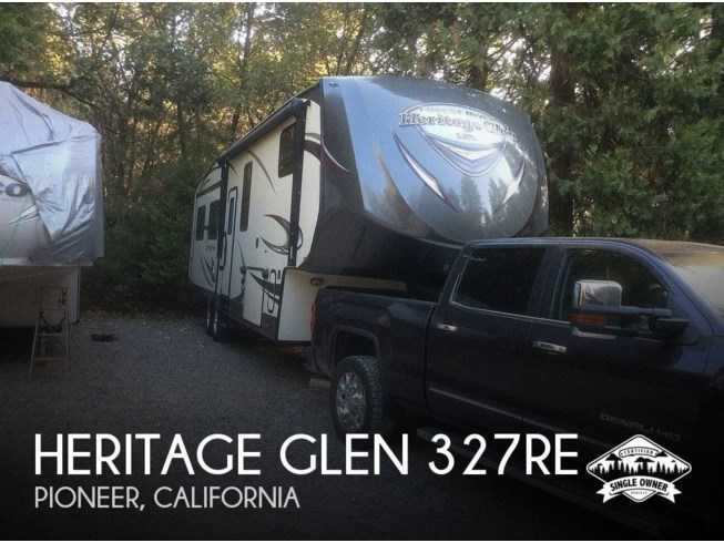 Used 2016 Forest River Heritage Glen 327RE available in Pioneer, California