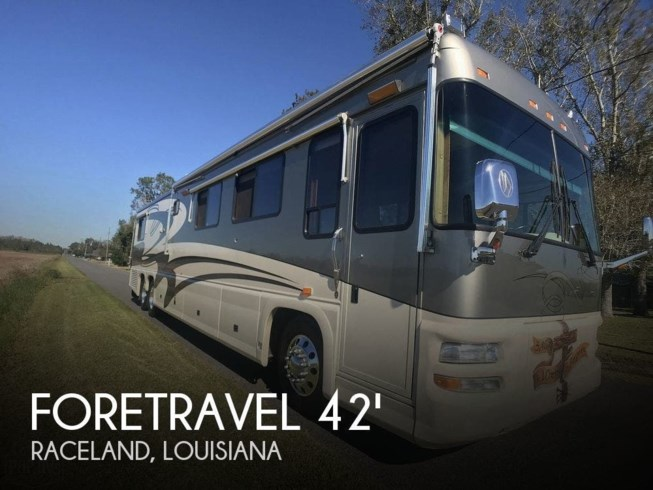 Used 2002 Foretravel 4200 SPEC U320 - Special Custom Built available in Raceland, Louisiana