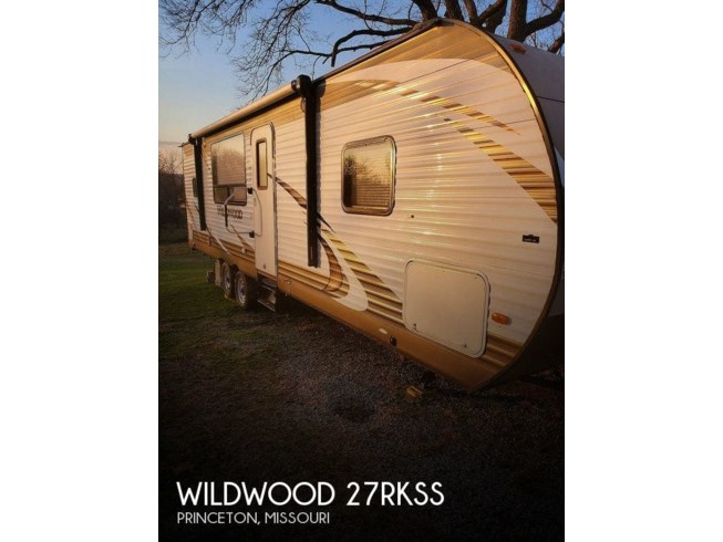 Used 2016 Forest River Wildwood 27RKSS available in Princeton, Missouri