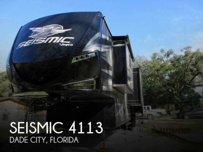 Used 2018 Jayco Seismic 4113 available in Dade City, Florida