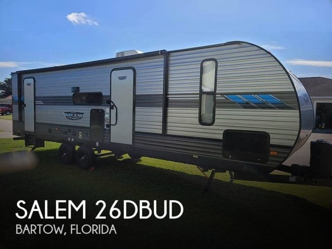 Used 2020 Forest River Salem 26DBUD available in Bartow, Florida