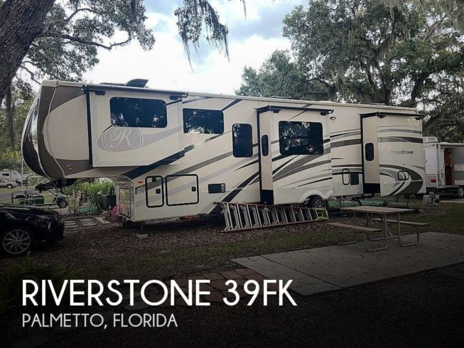Used 2017 Forest River RiverStone 39FK available in Palmetto, Florida