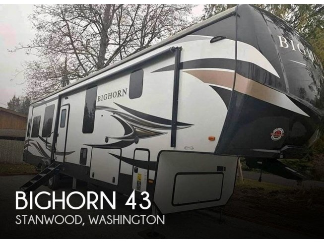 Used 2020 Heartland Bighorn 3870fb available in Stanwood, Washington