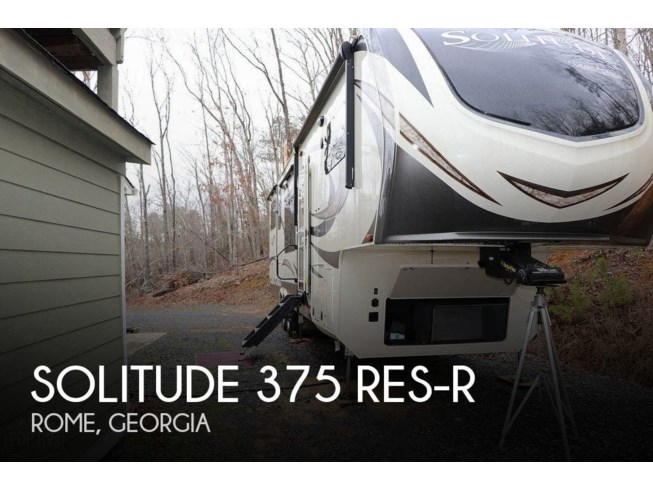 Used 2018 Grand Design Solitude 375 RES-R available in Rome, Georgia