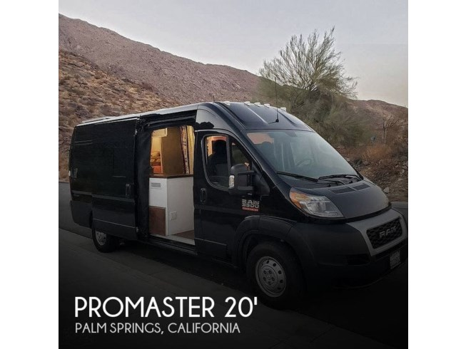 Used 2019 Miscellaneous Ram Promaster 3500 Custom Camper Conversion available in Palm Springs, California