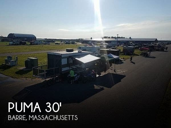 Used 2019 Forest River Puma XLE Lite 25TFC Toy Hauler available in Barre, Massachusetts