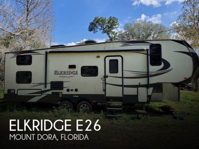 Used 2016 Heartland ElkRidge E26 available in Mount Dora, Florida