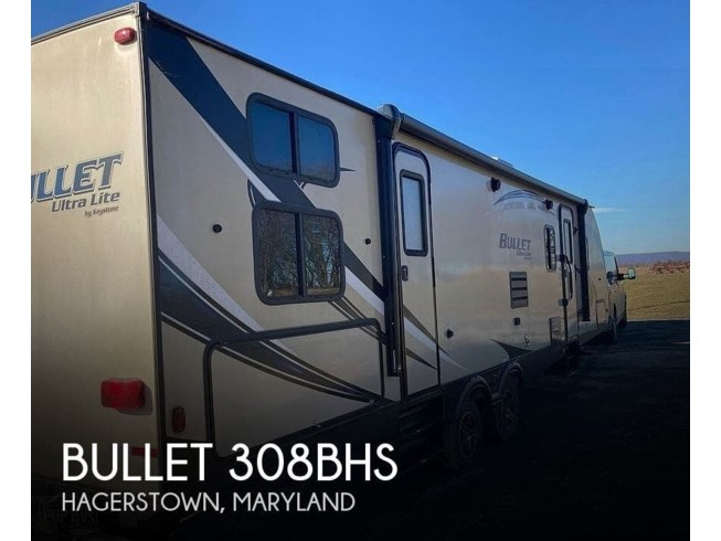 Used 2018 Keystone Bullet 308BHS available in Hagerstown, Maryland
