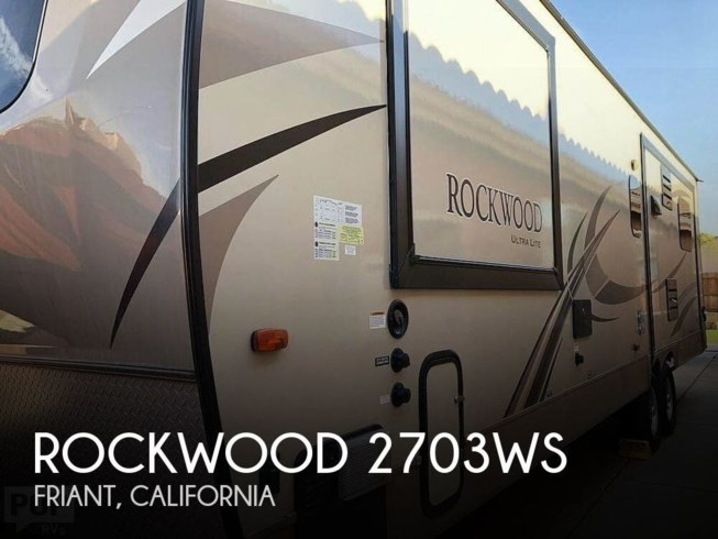 Used 2018 Forest River Rockwood 2703WS available in Friant, California