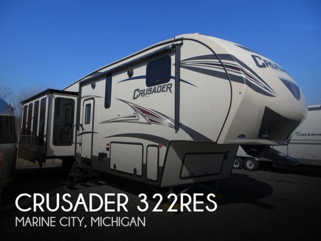 Used 2016 Forest River Crusader 322RES available in Marine City, Michigan