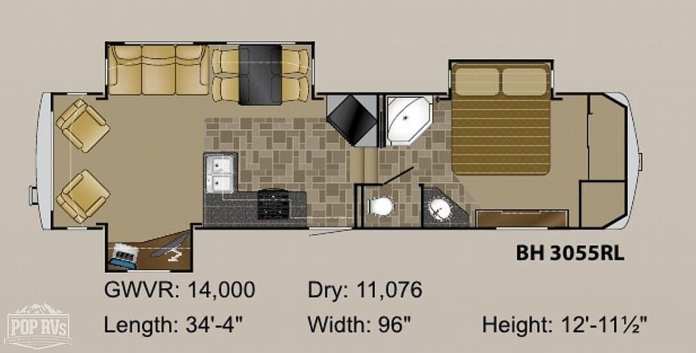2011 Heartland Bighorn 3055rl Rv For Sale In Georgetown Tx 78628 239328 Rvusa Com Classifieds