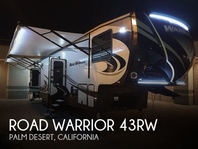 Used 2018 Heartland Road Warrior RW 413 Toy Hauler available in Palm Desert, California