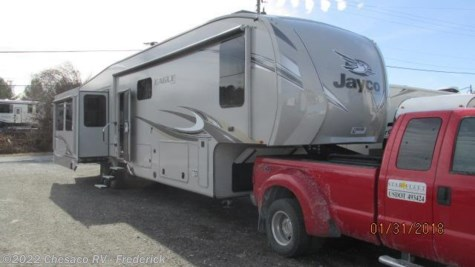 New 2018 Jayco Eagle 355MBQS For Sale by Chesaco RV - Frederick available in Frederick, Maryland