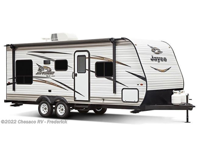 Stock Image for 2018 Jayco Jay Flight SLX 267BHS (options and colors may vary)