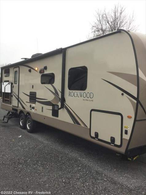 New 2018 Forest River Rockwood Ultra Lite 2706WS For Sale by Chesaco RV - Frederick available in Frederick, Maryland