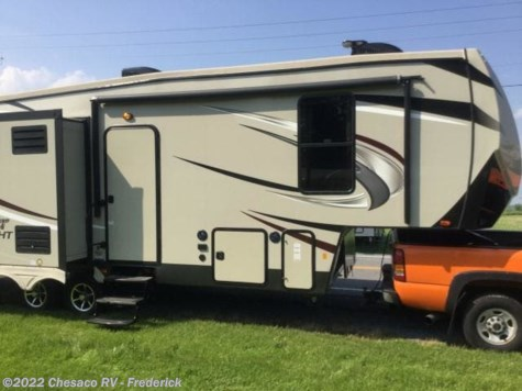 New 2019 Forest River Sandpiper HT 3250IK For Sale by Chesaco RV - Frederick available in Frederick, Maryland