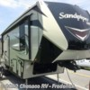 New 2019 Forest River Sandpiper HT 3350BH For Sale by Chesaco RV - Frederick available in Frederick, Maryland