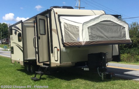 New 2018 Forest River Rockwood Roo 23IKSS For Sale by Chesaco RV - Frederick available in Frederick, Maryland