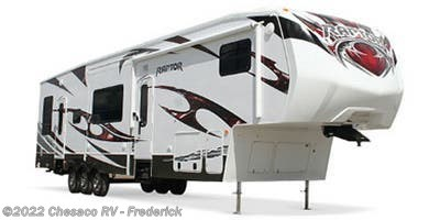 Stock Image for 2013 Keystone Raptor 365LEV (options and colors may vary)