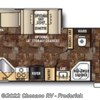 2015 Forest River Cherokee 264L floorplan image